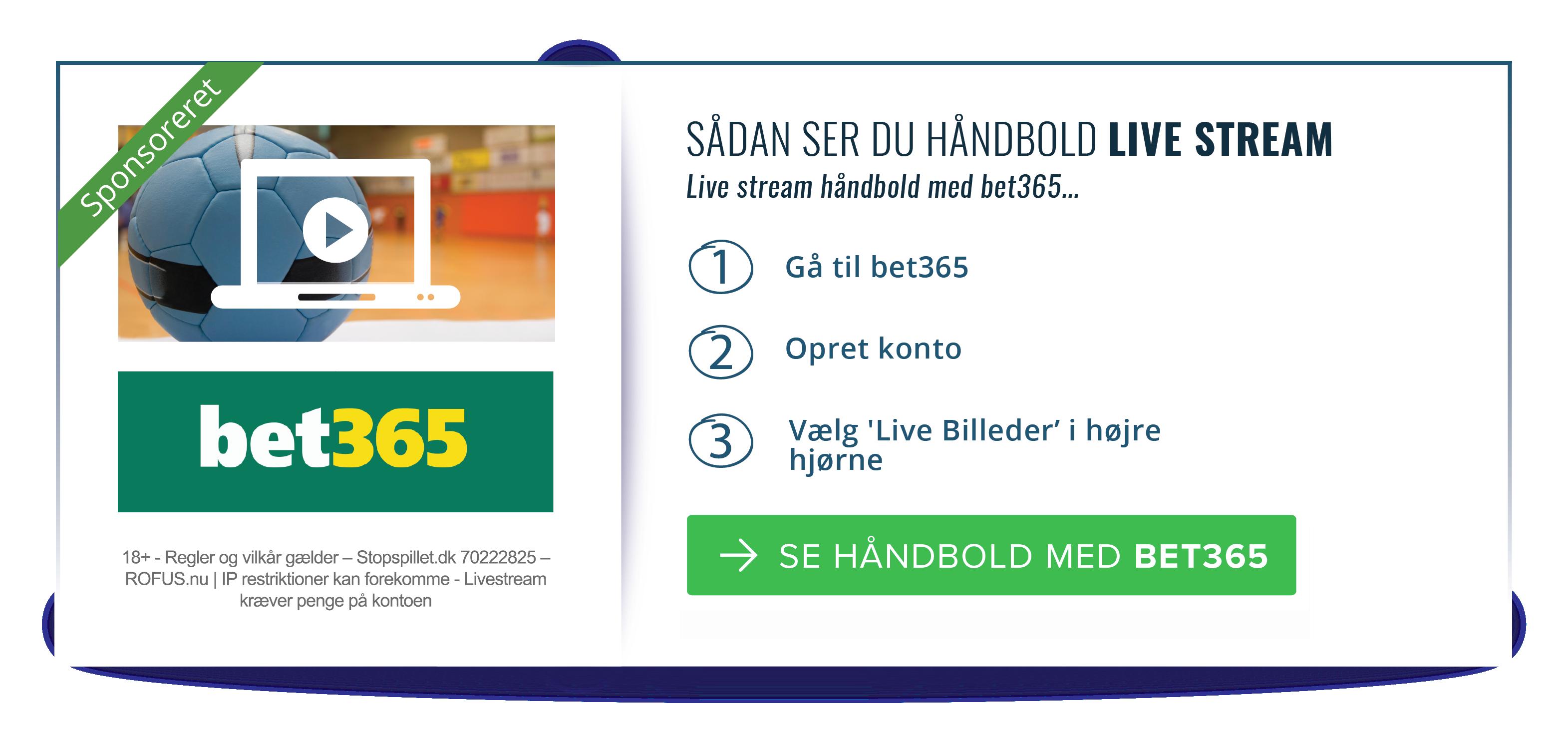 bet365 håndbold